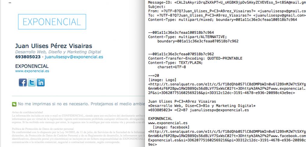 codigo html email