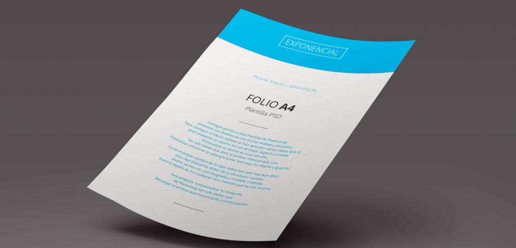 Plantilla-PSD-Folio-A4